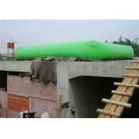 China Construction Site Collapsible Water Storage Tank , Water Pressure Tank Bladder Foldable on sale