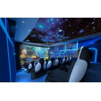 Motion Rides 5D Movie Theater Equipment 1 Seat 2 Seats 3 Seats With Electric System Manufactures