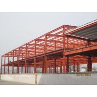 Industrial Large Pre Engineered Steel Buildings With Galvanization And Painting Treatment Manufactures