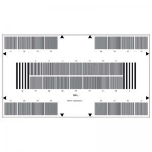 Reflective HDTV Camera Resolution Test Chart Sineimage YE0225 800W Manufactures