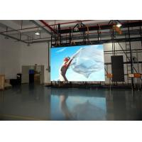 China HD Electronic RGB P3.91 Indoor Rental LED Display Black SMD2121 Back Stage Background on sale