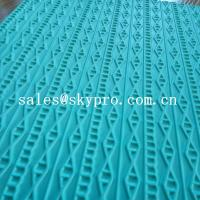 Quality High density rubber sheet for shoe 3D pattern recycle eva shoes sole material for sale