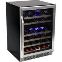 China 51 Bottles compressor wine cooler Dual-Zone on sale