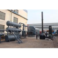 No pollution waste tire pyrolysis plant to diesel Manufactures