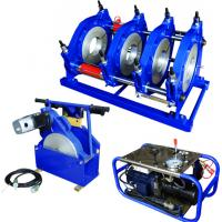 Hydraulic Semi Automatic HDPE Pipe Butt Fusion Welding Machine Φ 160mm To Φ 355mm Manufactures