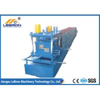 Full Automatic C&Z Purlin Forming Machine 16-18 Stations Servo Guiding Device Manufactures