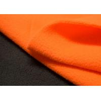 China 100 Polyester Outdoor Stretch Fabric Polar Fleece Brushed Finishing on sale