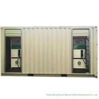 ISO Standard Mobile Gasoline Station Tank Container 20 FT 10000 -20000 Liters Manufactures