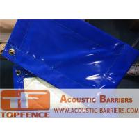 Quality Temporary Sound Barriers 18mm thickness  4kg/SQM 25dB noise Insulation for sale