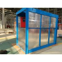 118kg Mast Construction Lifts, 8 Rack Modulus 54m Elevator for Airport Built - up Manufactures