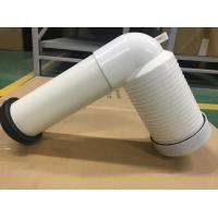 PVC Toilet Drain Pipe With Connector , Wc Waste Pipe Large Displacement Manufactures