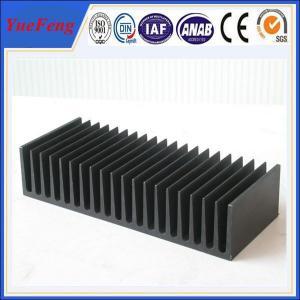 Aluminium heat sink manufacturer from China ,OEM Aluminium heat sink for power amplifier Manufactures