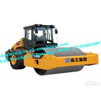 Model XS143J Mechanical Single Drum Vibratory Roller , Road Roller With Operating Mass 14000kgs Manufactures