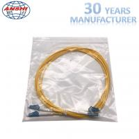 China G652D Single Mode Optical Fiber Patch Cord LC - LC UPC Type 0.3dB Insertion Loss on sale