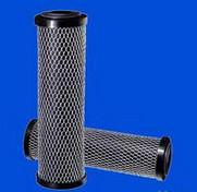 industrial 5 micron Activated Carbon Block Filter Cartridge for beer / wine purification Manufactures