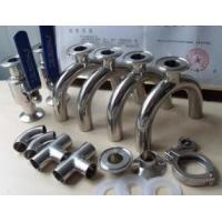 1/2 Inch - 8 Inch Stainless Steel Pipe Fittings Sanitary Elbow , Bend , Tee , Reducer,3A,SMS,DIN Manufactures