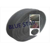 China Pure Titanium Filter Knitted Mesh 0.2 / 0.25mm Wire For Sea Water Desalination / Air Filter on sale