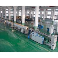 China Gas / Water Supply Pipe Extrusion Line PE / HDPE Pipe Welding Machine on sale