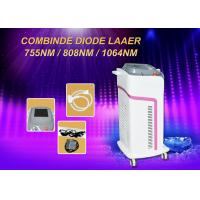 China 600w Diode Hair Removal Laser Machine Micro Channel 755/808/1064nm Combination wholesale