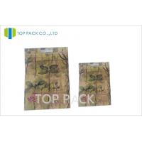 High Barrier Empty Herbal Incense Bags Double Zipper With Customizable Printing Manufactures