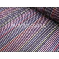 Stable Quality Normal soft Cotton Nylon Fabric Spandex , Plain Weave , Stripe Fabric Manufactures