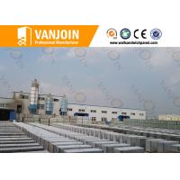Cement Eps Composite Panel Board , 150mm prefabricated concrete wall panels Manufactures