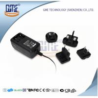 Quality Wall Mount AC DC Power Adapter 12v 2a With Interchangeable Plugs PSE UL GS for sale