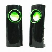 USB Speaker, Various Firefly Colors are Available, with High Level Rubber and High-glass Face Finish Manufactures