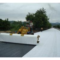 Wear Resistant PET Non Woven Fabric , Needle Punched Geotextile Eco - Friendly Manufactures