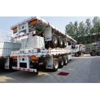 Buy cheap 3 axles fence trailer side wall open semi trailer - CIMC factory from wholesalers