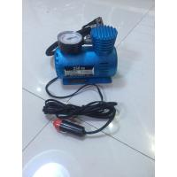 Quality Small Fast Inflation Black And Blue Portable Air Compressor For Car With CE for sale