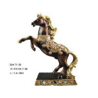 China Home Decoration Polyresin Horse Figurine (D24-71186) on sale