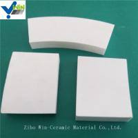 Corrosion resistance white alumina ceramic tiles Chinese factory Manufactures