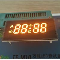 Bright Amber 4 Digit Seven Segment Display Common Anode For Oven Timer Control Manufactures