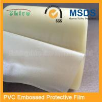 China Adhesive Embossing PVC Protective Film Roll With High Viscosity on sale