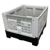 Cunstomzied Color Collapsible Plastic Pallet Containers 700L Capacity 43kg Weight Manufactures