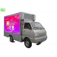 Outdoor Mobile Truck LED Display , Rental Led Mobile Screen P4 5 Years Warranty Manufactures
