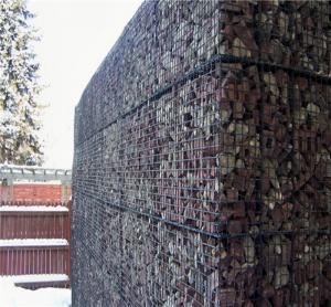 welded Gabion retaining wall