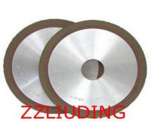 Resin bond diamond grinding wheels for carbide