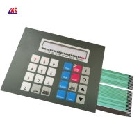 China Medical Instruments 0.3mm Tactile Membrane Switch on sale
