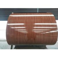 Easy cleaning Prepainted Galvalume Steel Coil AZ For Cold Room / Construction Manufactures