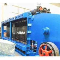Zinc And Pvc Coated Fully Automatic Hexagonal Wire Netting Machine / Gabion Mesh Machine Manufactures
