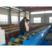 Color Steel Downspout Metal Roll Forming Machine With 380V / 3PH / 50HZ