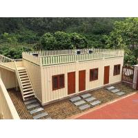 China Furnished  Portable Affordable Using Shipping Containers For Housing Wind Resistant  Seismic on sale