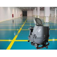 Cleaning Company Washer Scrubber Dryer Machines , Hard Ground Walk Behind Floor Scrubbers Manufactures