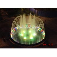Outdoor Or Indoor Garden Water Fountains Customized With LED RGB Underwater Light Manufactures