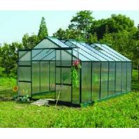 twin wall greenhouse with spring clips Manufactures