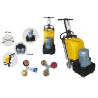 Epoxy Floor Polishing Machine Terrazzo Floor Grinder With Multifunction Plate Manufactures