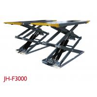 China Stable Vehicle Scissor Lift 3000KG Capacity For Drive - Train Work High Adapter on sale