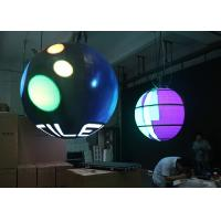 Quality Interior Sphere Led Screen , Global Led Display Front / Rear Maintenance for sale